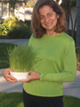 Guest with Wheatgrass